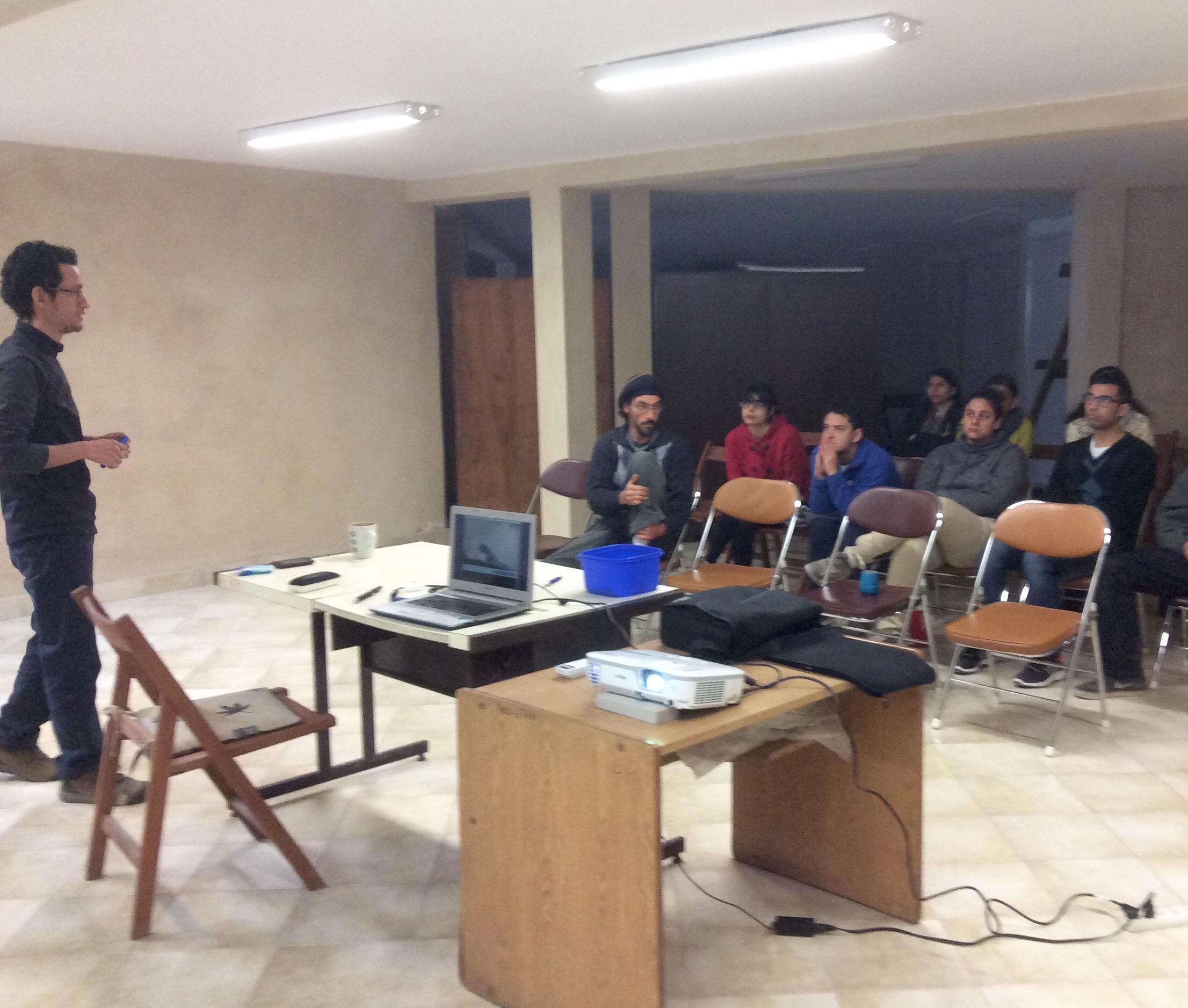 Dr. Carlos Andrés Cultid-Medina, su presentacion en el IER